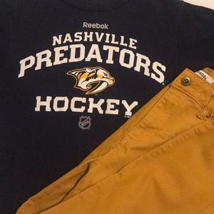 Nashville Predators NHL Hockey TShirt